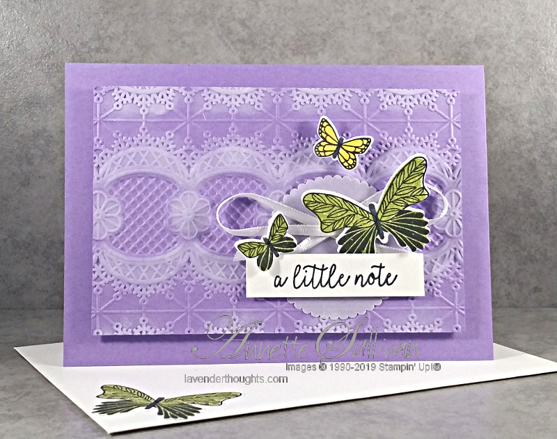 CASEing the Occasions Catalogue with ButterflyGala