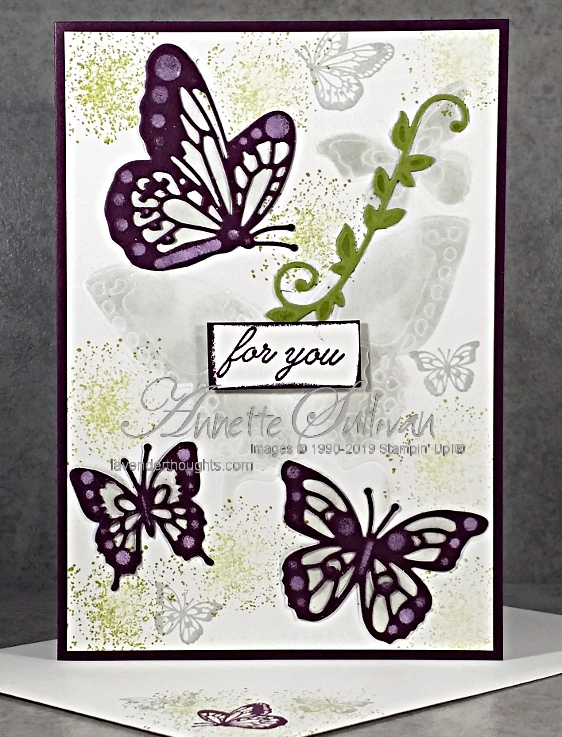 VIDEO – Embossing with Butterfly BeautyThinlits