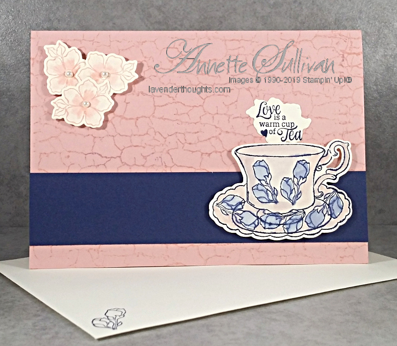 Tea Together and Crackle Paint with FREEPDF