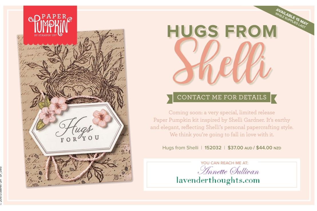 Paper Pumpkin Hugs fromShelli