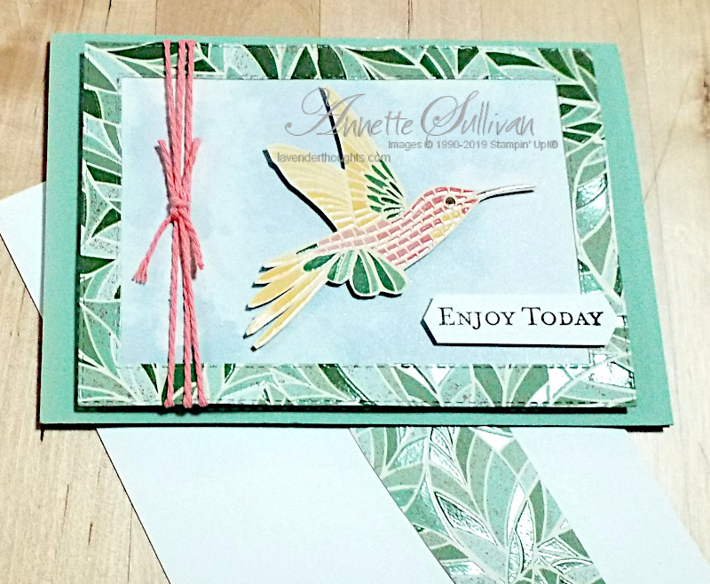 Ways to use Designer Paper with Mosaic Mood SpecialtyDSP