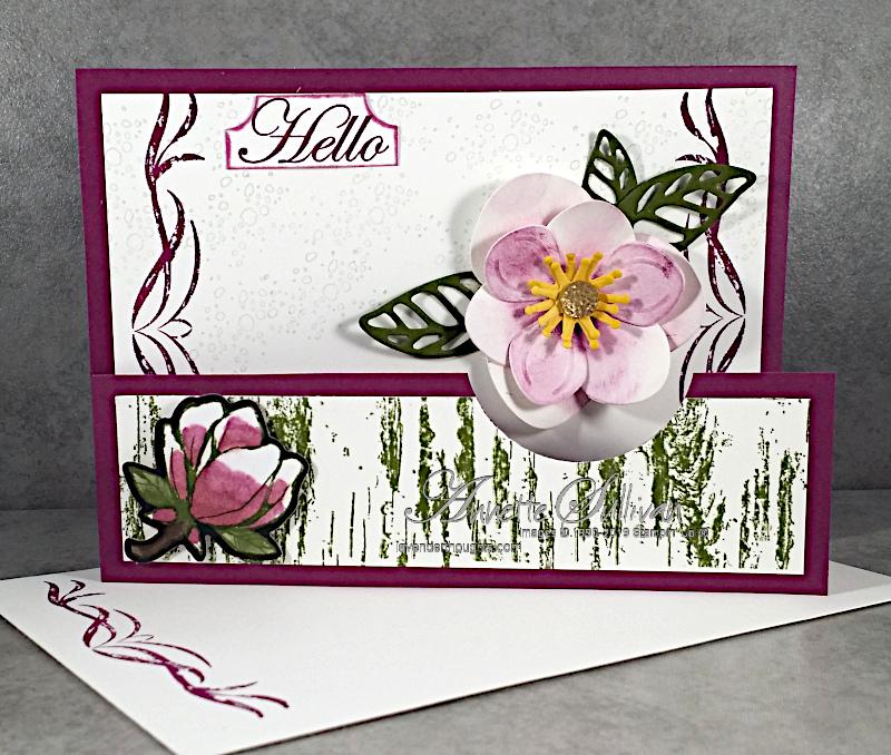 Fancy Fold Card with Good MorningMagnolia