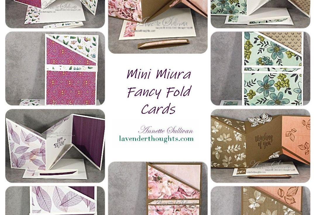 FREE PDF Tutorial – Mini Miura Fancy FoldCard