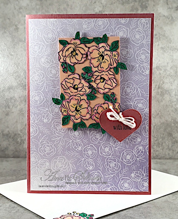 Rococo Roses for the Sketch Challenge at Splitcoaststampers