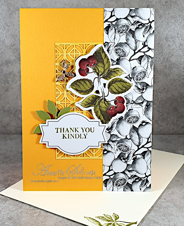 Quick and Easy Card with Botanical Prints ProductMedley