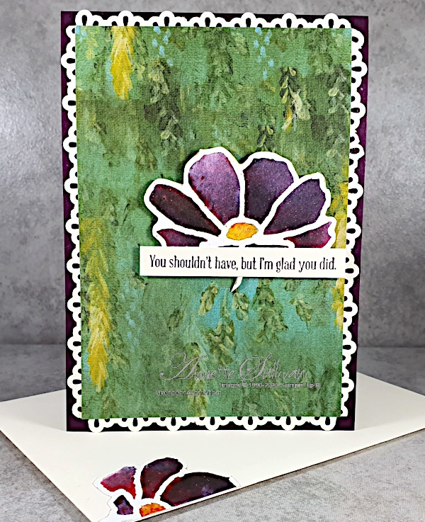 Peaceful Moments for the Sketch Challenge at Splitcoaststampers
