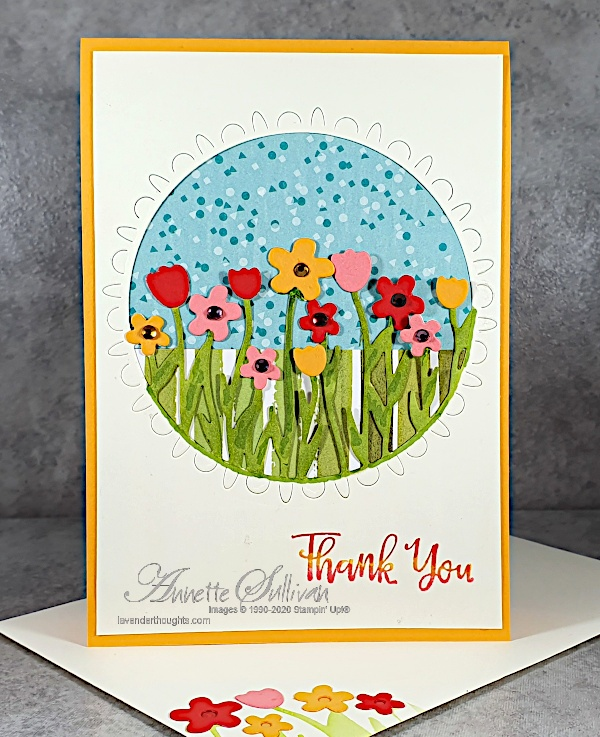 Sending Flowers Dies for a Quick and Easycard