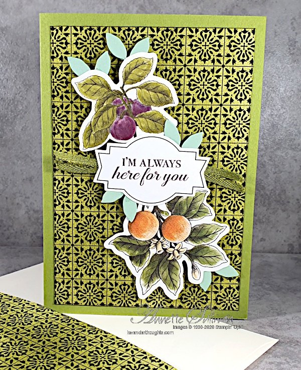 Another Quick and Easy Card with Botanical Prints ProductMedley