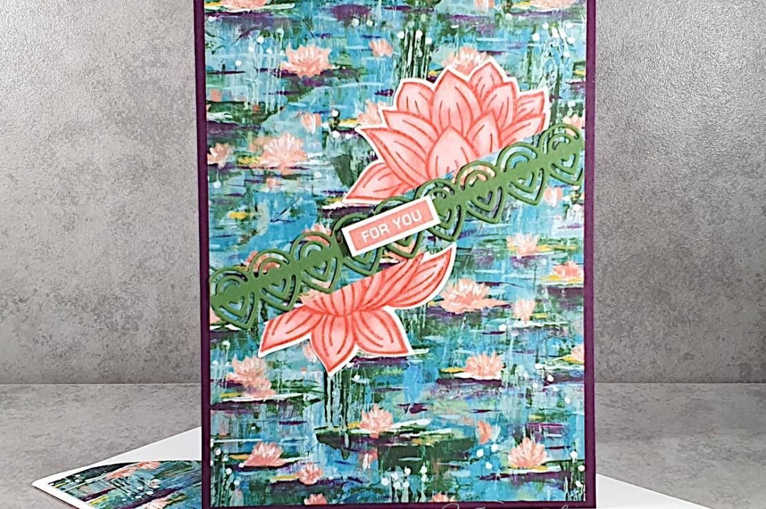 Waterlilies for the Sketch Challenge at Splitcoaststampers