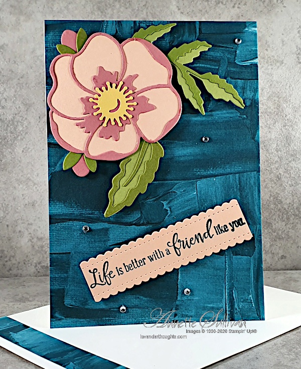 Another Quick and Easy Card using Peaceful MomentsBundle