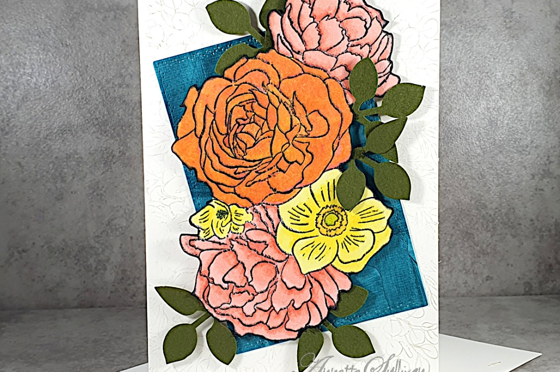 Breathtaking Bouquet for the Color Challenge at Splitcoaststampers