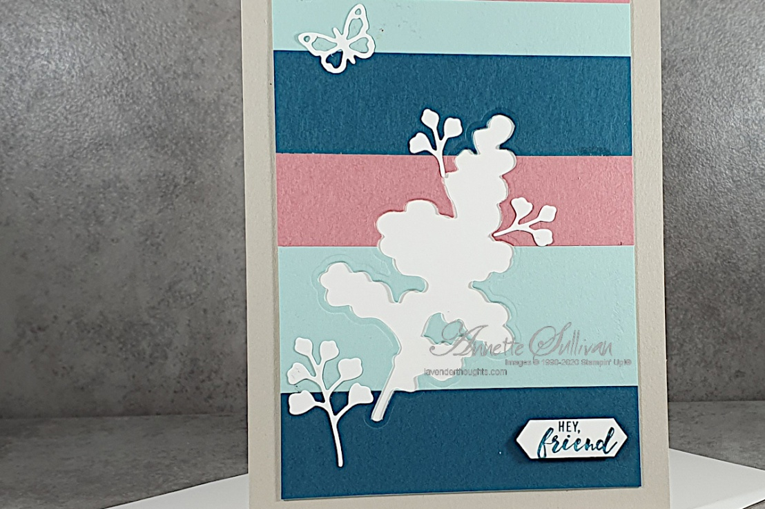 Color Blocking Technique for the Color Challenge at Splitcoaststampers