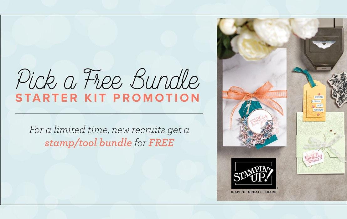 Pick a Free Bundle Starter KitPromotion