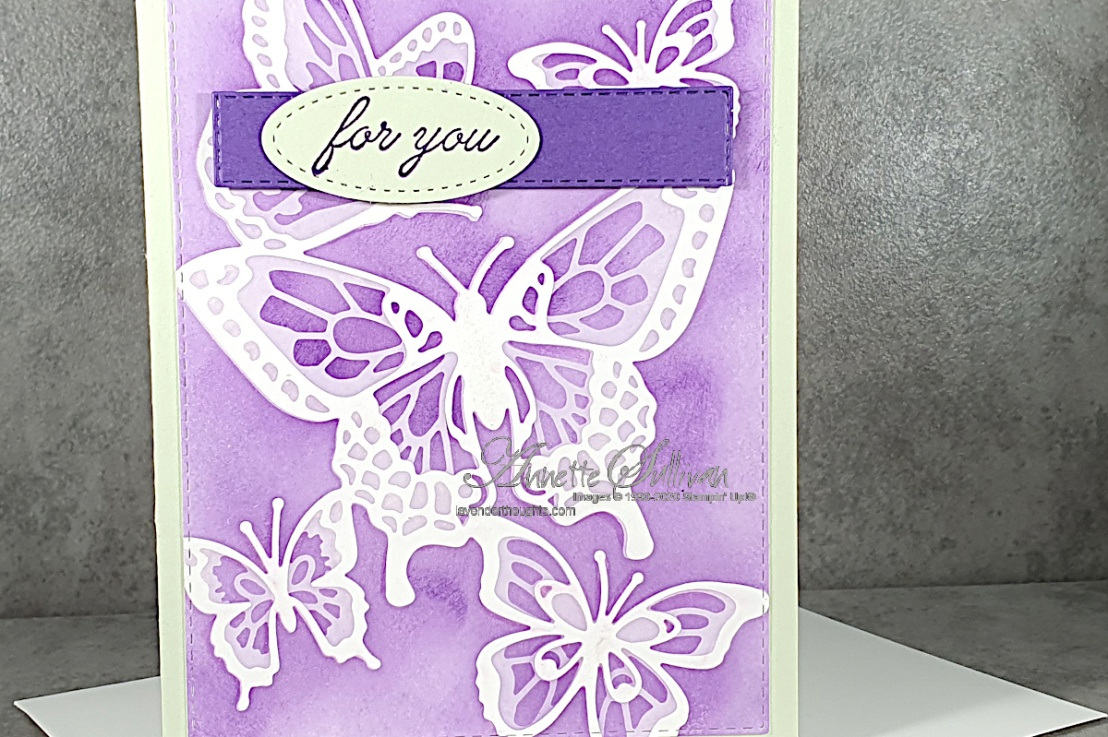 Masking with Die Cuts for the Sketch Challenge at Splitcoaststampers