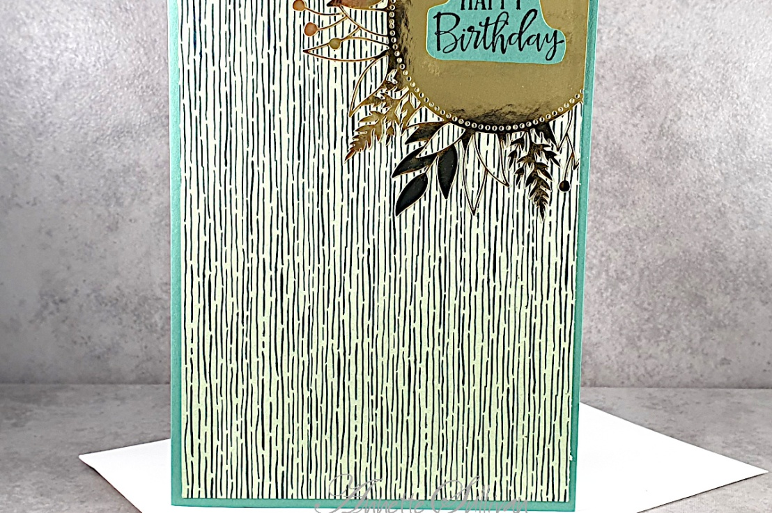 Quick and Easy card for the Sketch Challenge at Splitcoaststampers