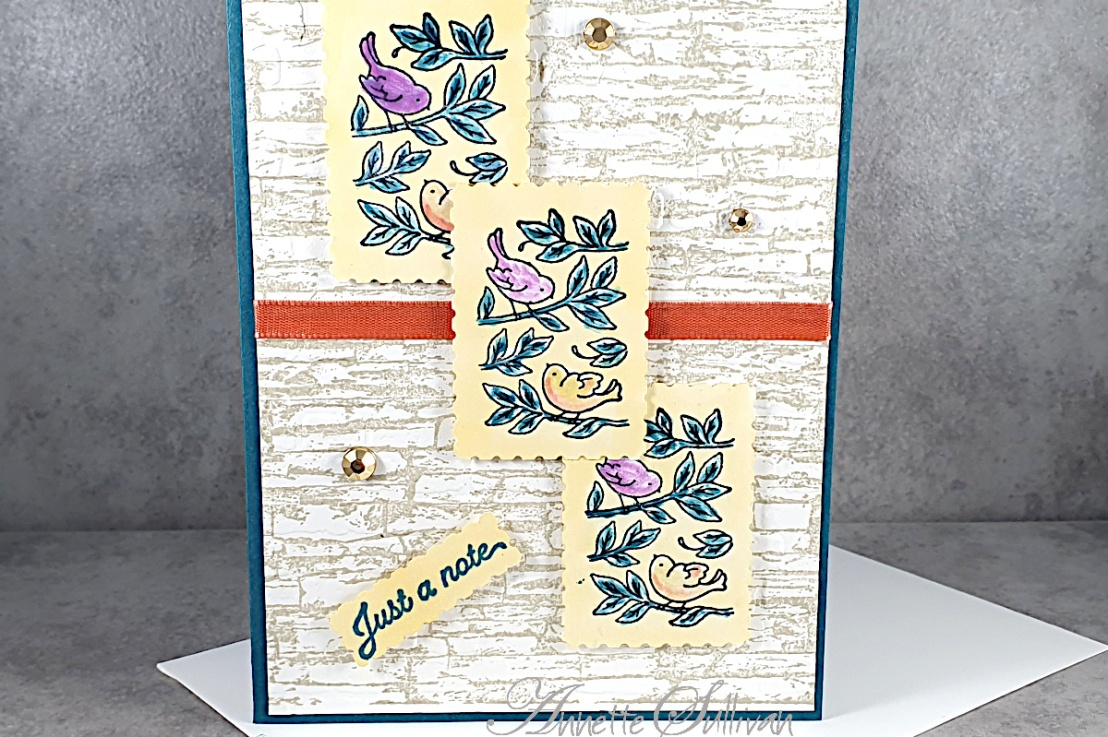 Posted For You with a FREE PDF for the Color Challenge at Splitcoaststampers