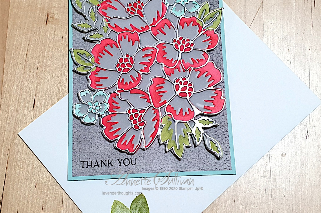 Blossoms in Bloom for the 800th Color Challenge at Splitcoaststampers