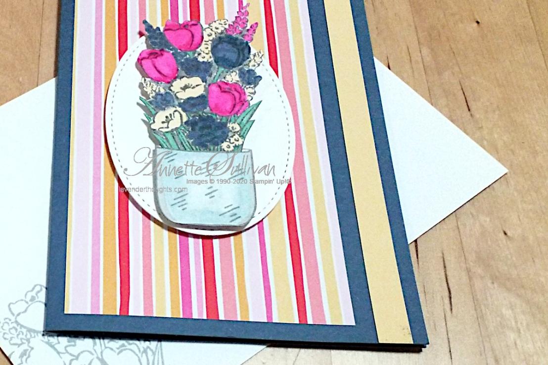 Jar of Flowers in Misty Moonlight and SoSaffron