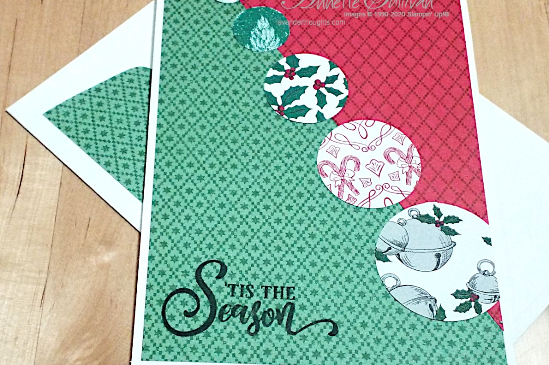 Quick and Easy Christmas Card for the Splitcoaststampers SketchChallenge