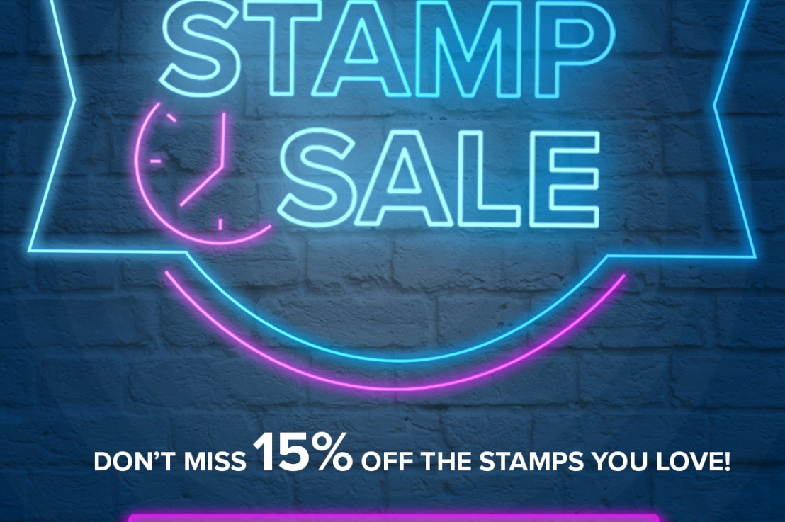 15% off Selected Stamp Sets – TODAYONLY