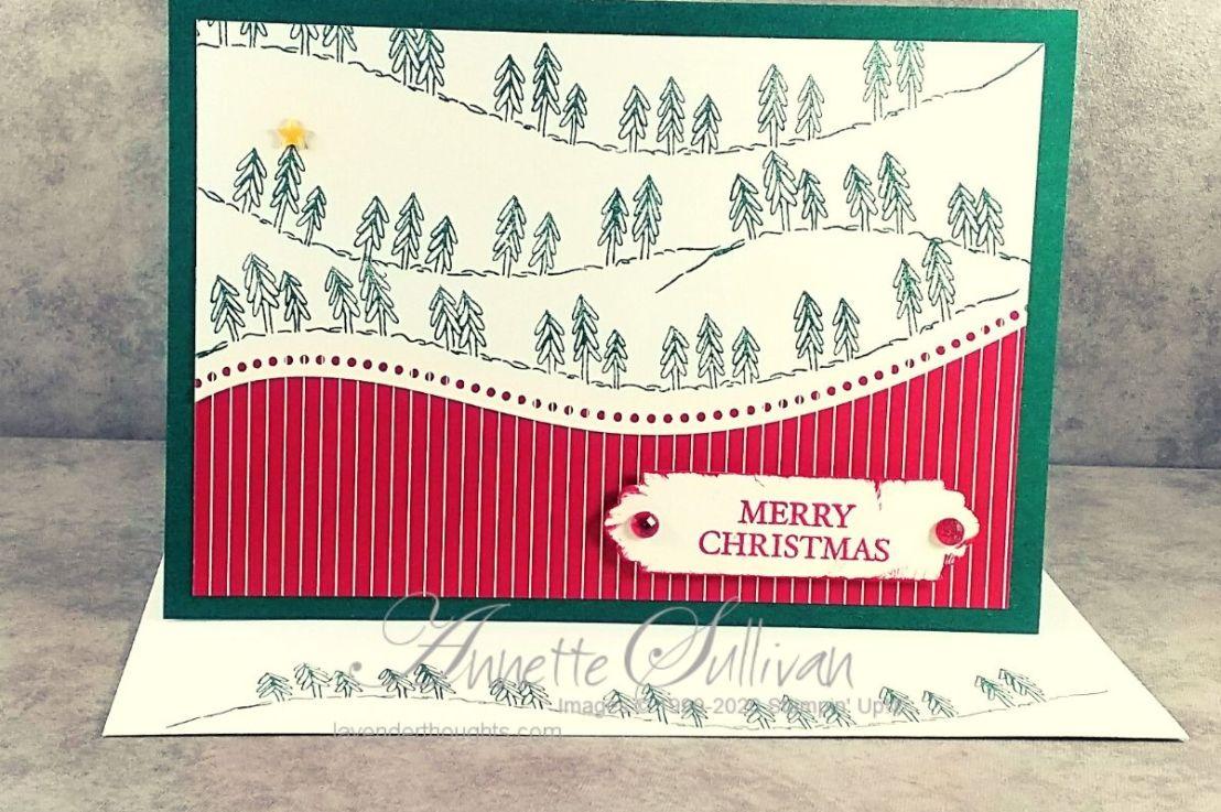 Curvy Christmas Cards