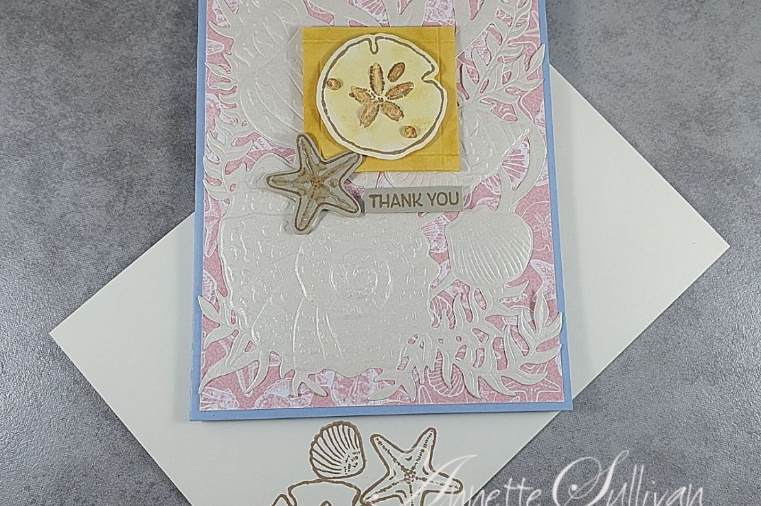 Friends Are Like Seashells for the Sketch Challenge at Splitcoaststampers