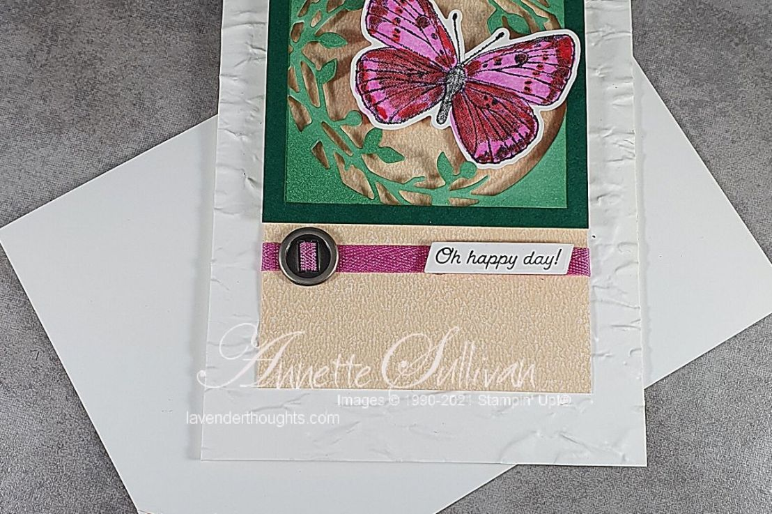 Butterfly Brilliance for the Sketch Challenge at Splitcoaststampers