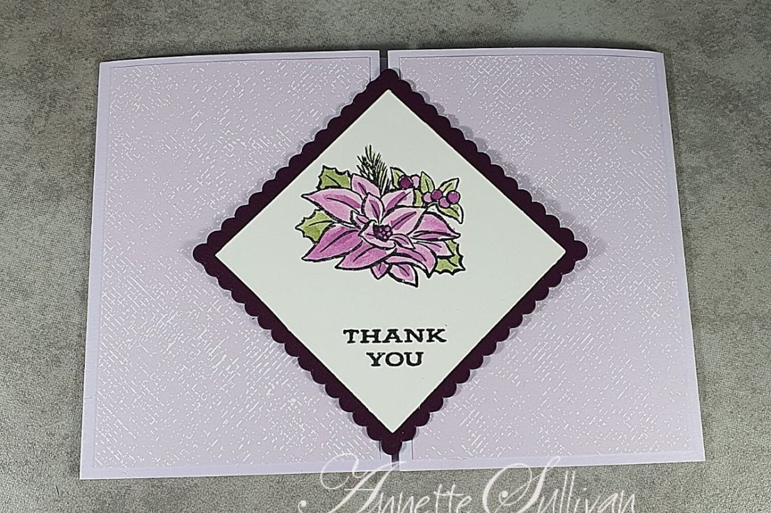 Slide & Lock Gate Fold Cards with Four SeasonFloral