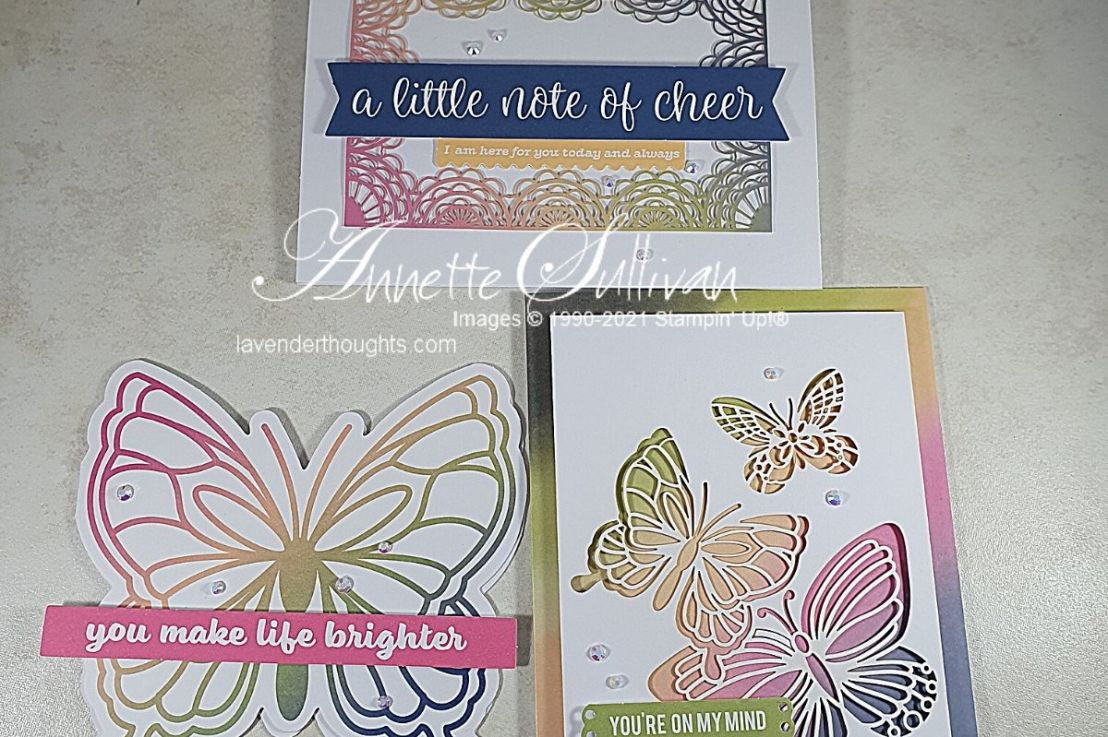 VIDEO for Quick and Easy Cards with the Notes of Cheer CardKit