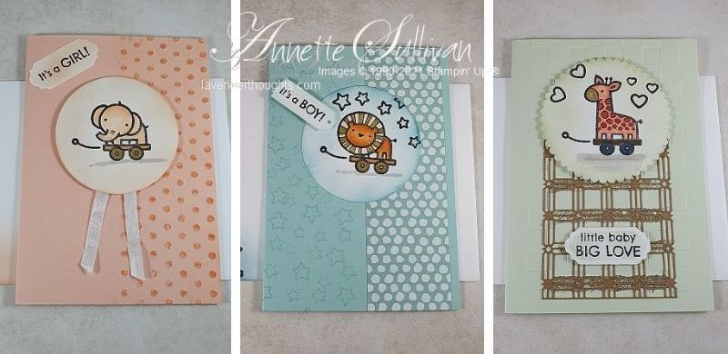Baby Cards using Baby PullToys